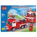 ГОРОД МАСТЕРОВ Городской транспорт BB-8872-R Пожарная станция