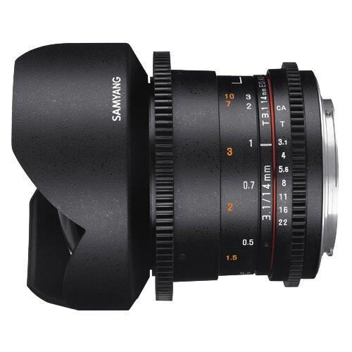 Фото - Объектив Samyang 14mm T3.1 ED объектив