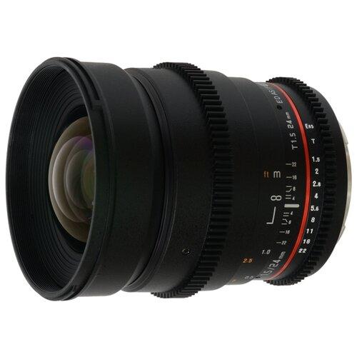 Фото - Объектив Samyang 24mm T1.5 ED объектив
