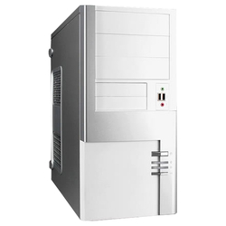 Компьютерный корпус IN WIN S625 450W Silver/white