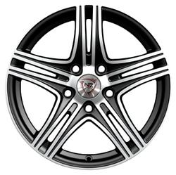 Колесный диск NZ Wheels F-6 6.5x16/4x98 D58.6 ET38 BKF