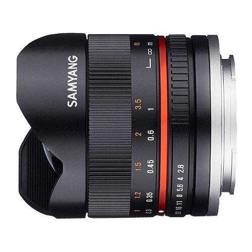 Фото - Объектив Samyang 8mm f 2.8 UMC объектив samyang mf 8mm f 2 8 as if umc fish eye ii sony e mount black