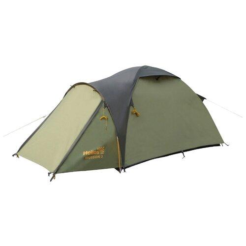 Палатка HELIOS MUSSON-2 cпальный мешок helios батыр сок 2 green 0612