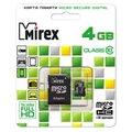 Mirex microSDHC Class 10 + SD adapter