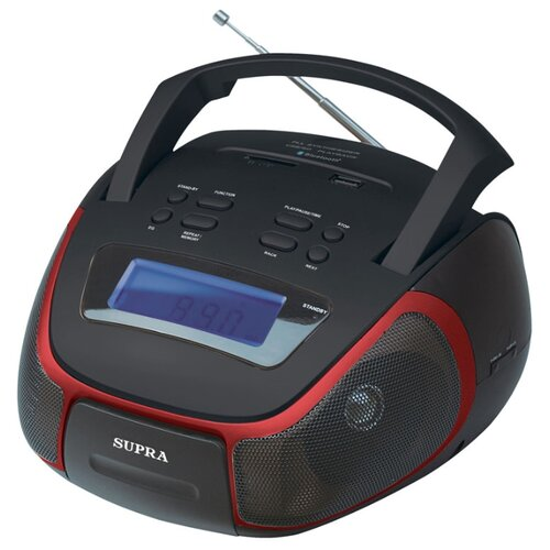 Магнитола SUPRA BB-40MUSB аудиомагнитола supra bb 24mus