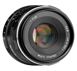 Объектив Meike 35mm f/1.7 Canon EF-M