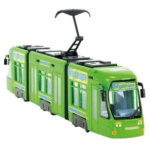 Трамвай Dickie Toys 3829000 46 см dickie toys сигнал регулировщика со светом 25 см dickie toys