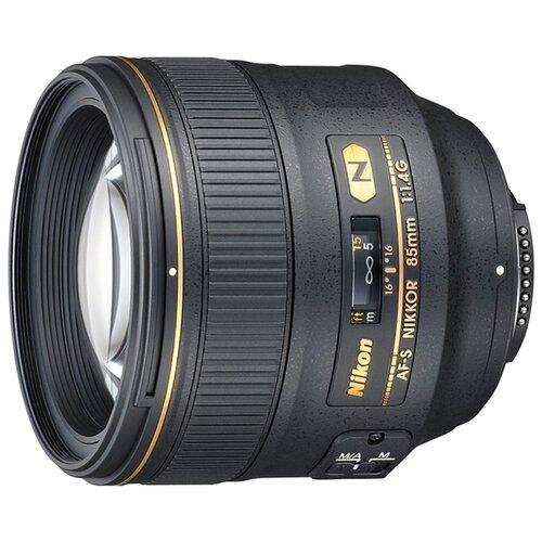 Фото - Объектив Nikon 85mm f 1.4G AF-S объектив
