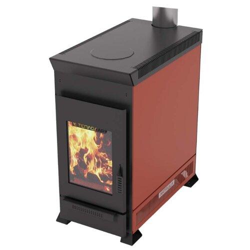 Дровяная печь Теплодар отопительная печь теплодар топ 200 со стальной дверцей