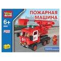 ГОРОД МАСТЕРОВ Городской транспорт BB-8808-R Пожарная машина