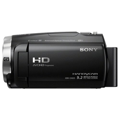Фото - Видеокамера Sony HDR-CX625 видеокамера sony hdr cx405b black 30x zoom 9 2mp cmos 2 7 os avchd mp4 [hdrcx405b cel]