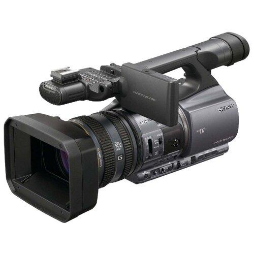 Фото - Видеокамера Sony DCR-VX2200E видеокамера sony hdr cx405b black 30x zoom 9 2mp cmos 2 7 os avchd mp4 [hdrcx405b cel]