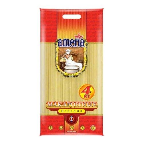 Ameria Макароны Спагетти № 3 4кг макаронные изделия ameria спагетти 4кг