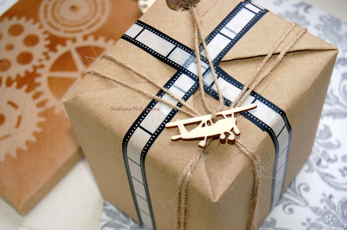 Упаковка подарка курск 58