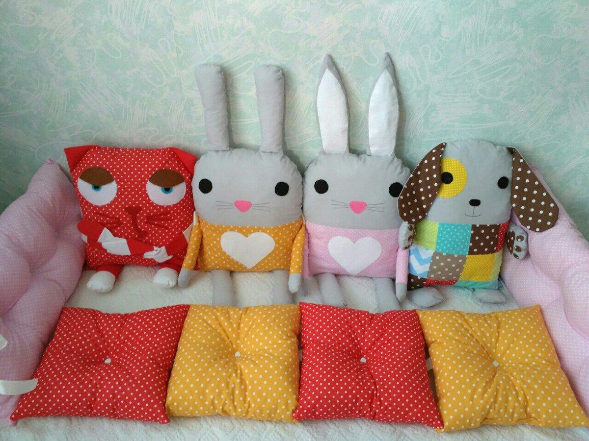 Детские подушки своими руками: выкройки, схемы, пошив