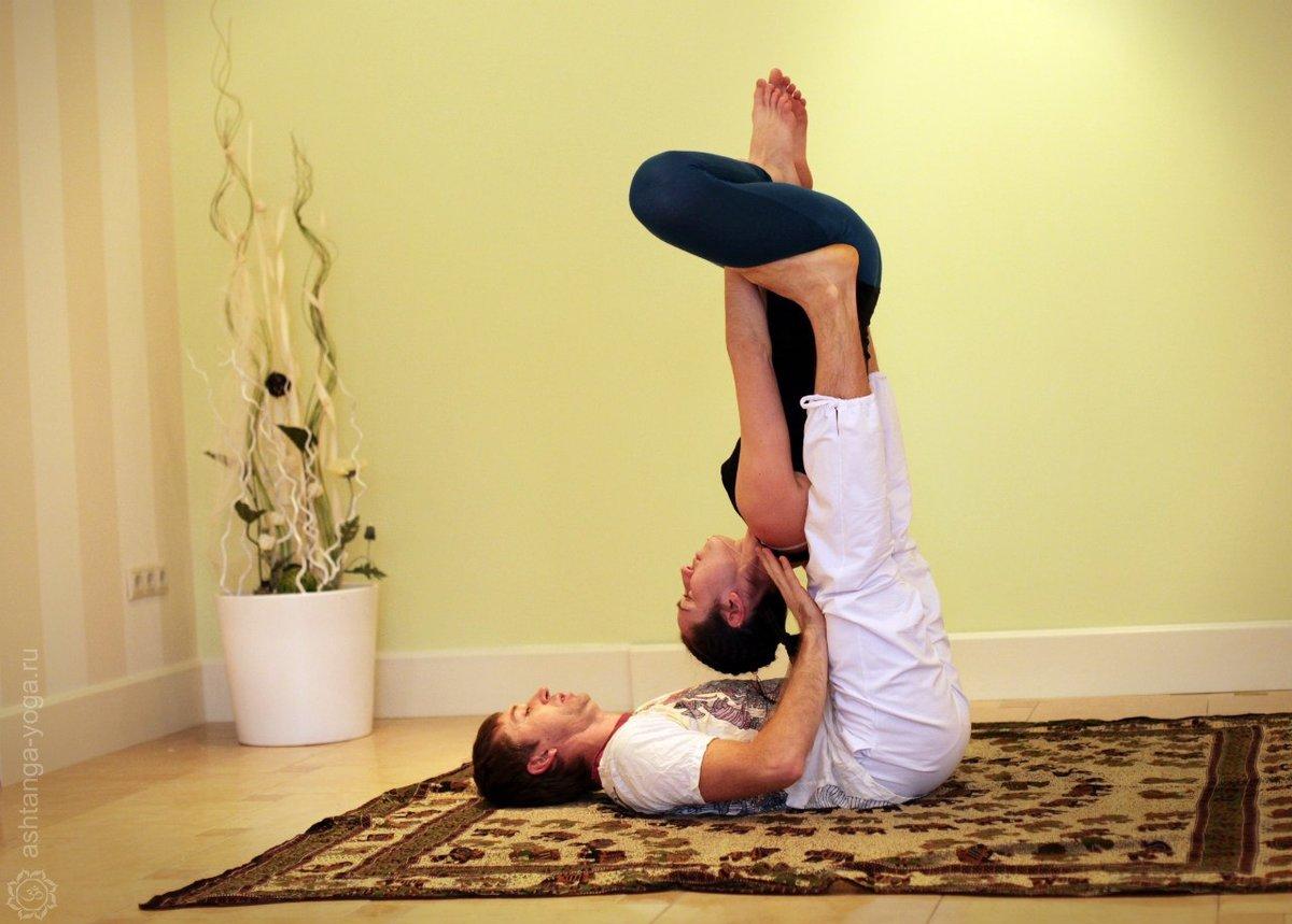 Парная йога для двоих детей - Figuradoma