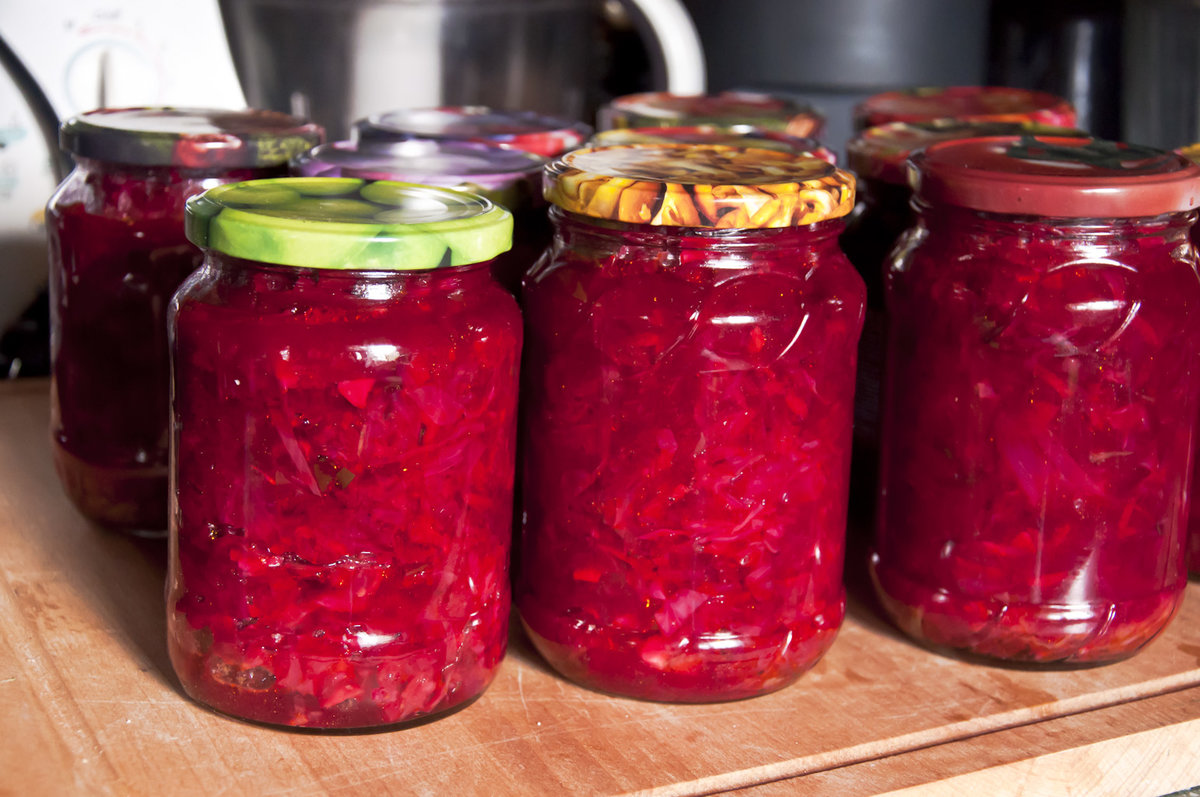 Свекольный салат на зиму рецепты пошагово