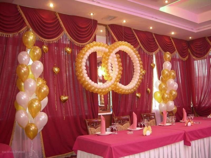Как украсить зал на шарами своими руками 942
