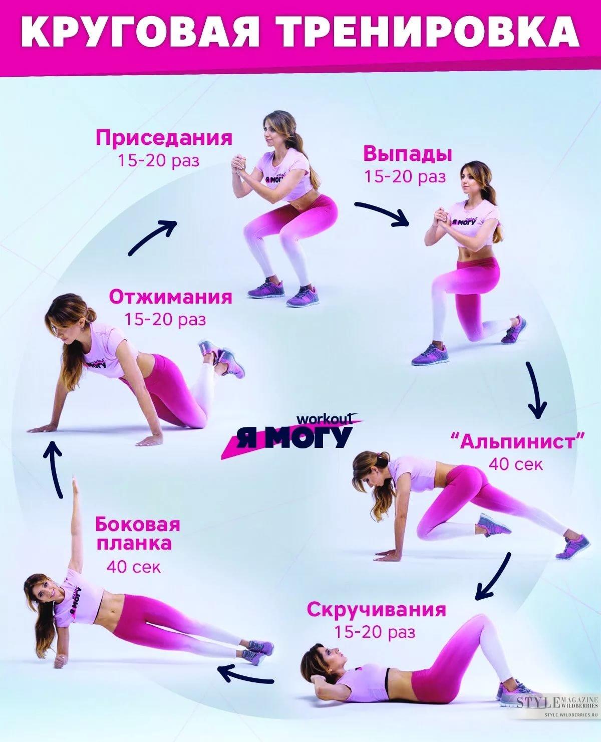 Упражнения на сжигание жира на животе. Программа 41