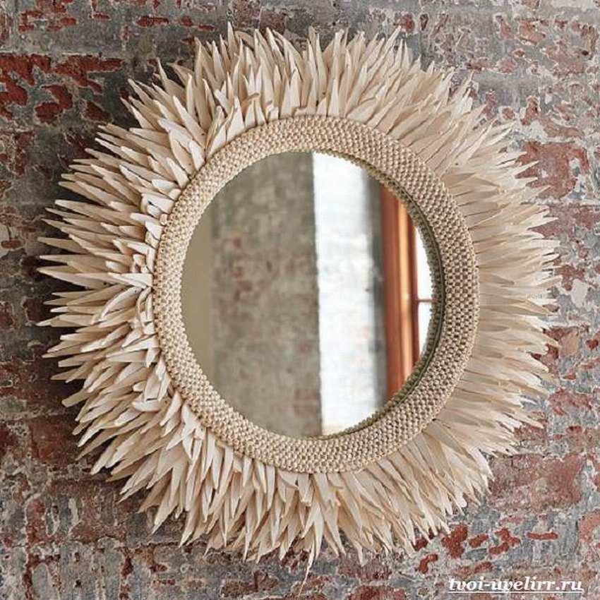 Обновление старого зеркала своими руками 13