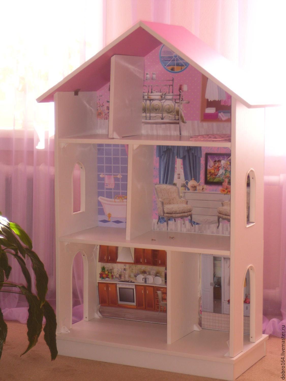 Кукольный домик своими руками: 3 мастер-класса и 30 фото-идей 98