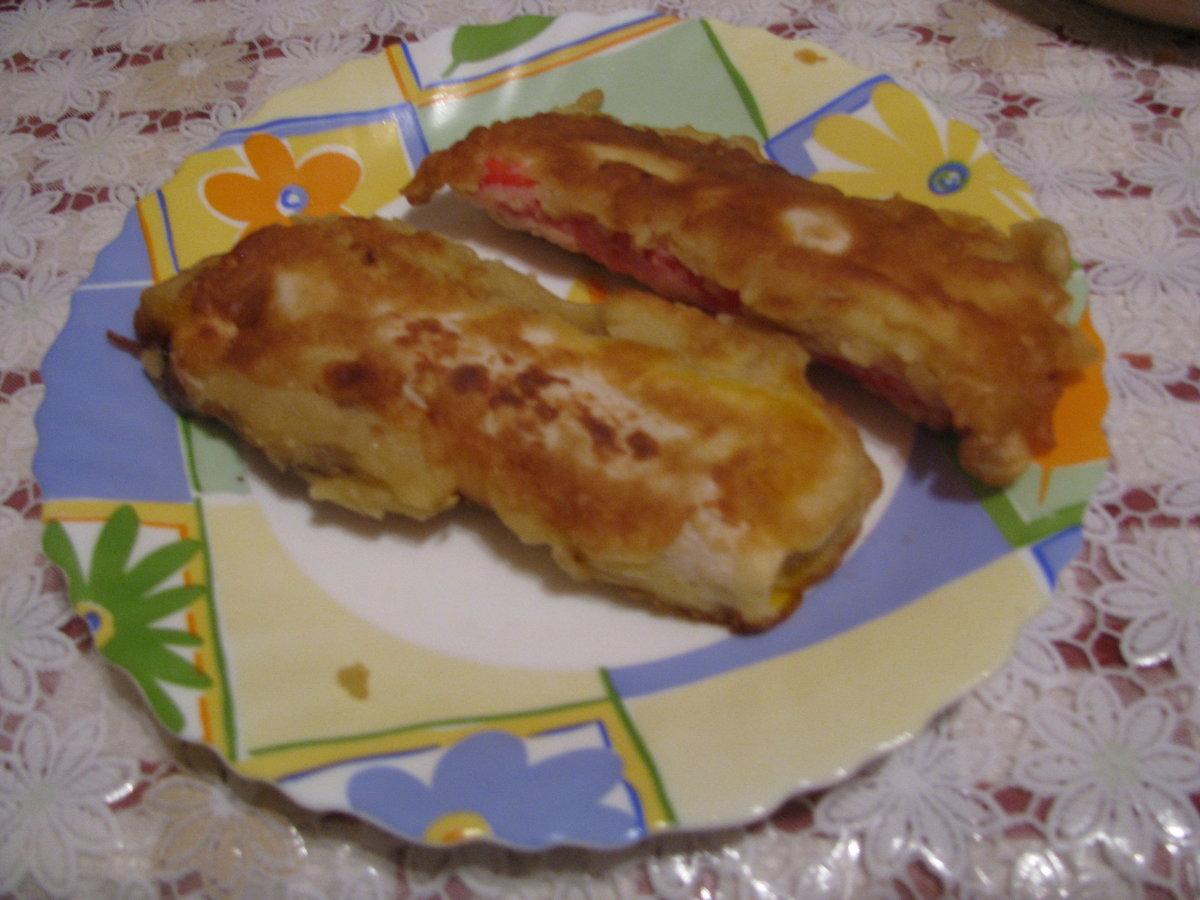 Крабовые палочки в кляре простой рецепт с сыром пошагово