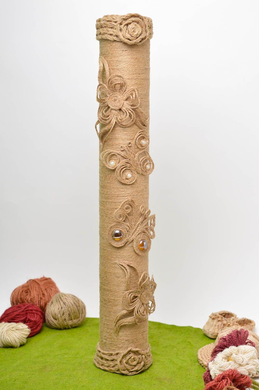Декор из шпагата своими руками фото 24