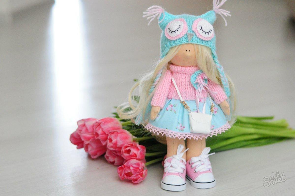 Сшитые из ткани куклы 64
