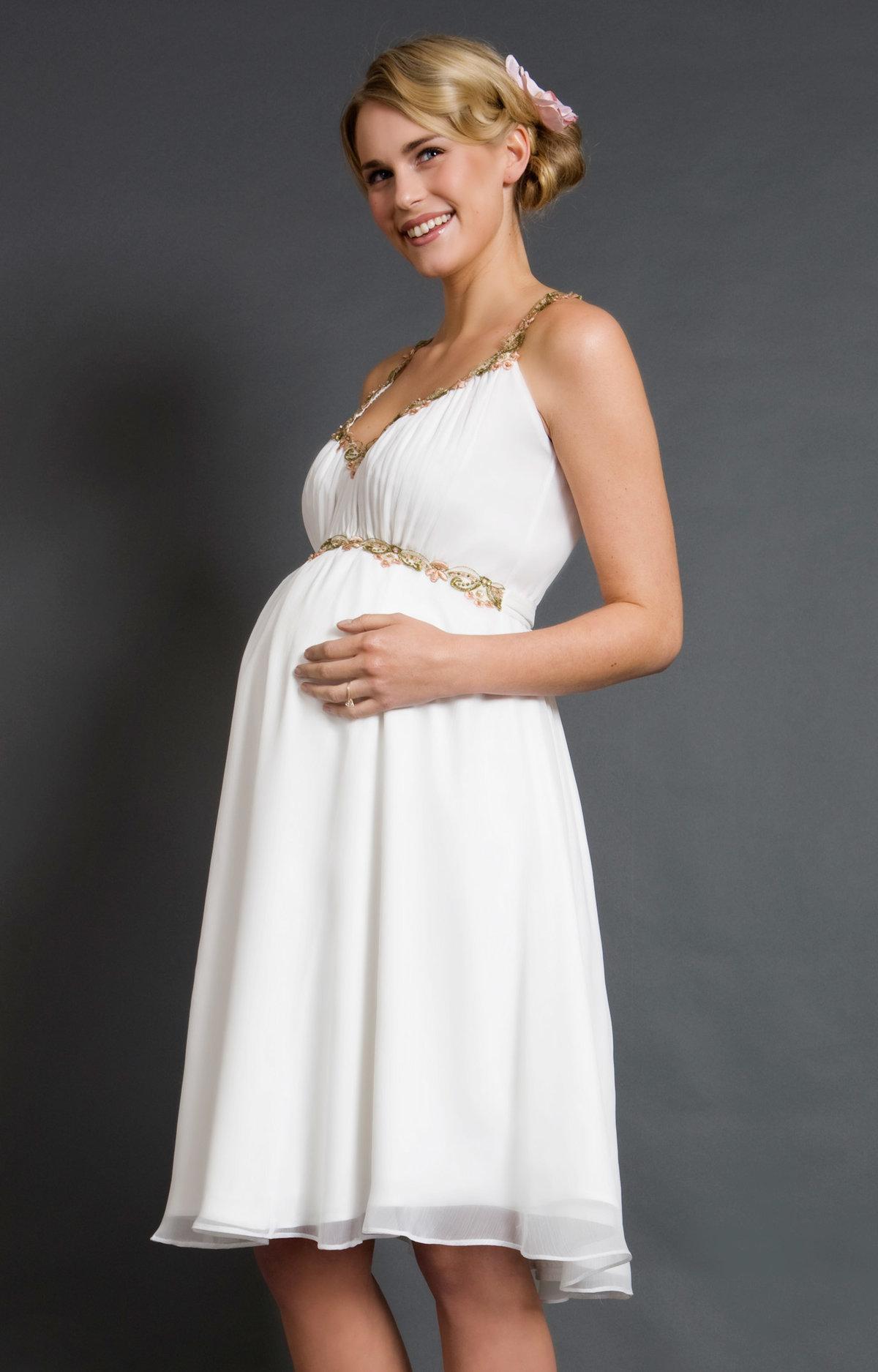 Платья для беременной своими руками 59