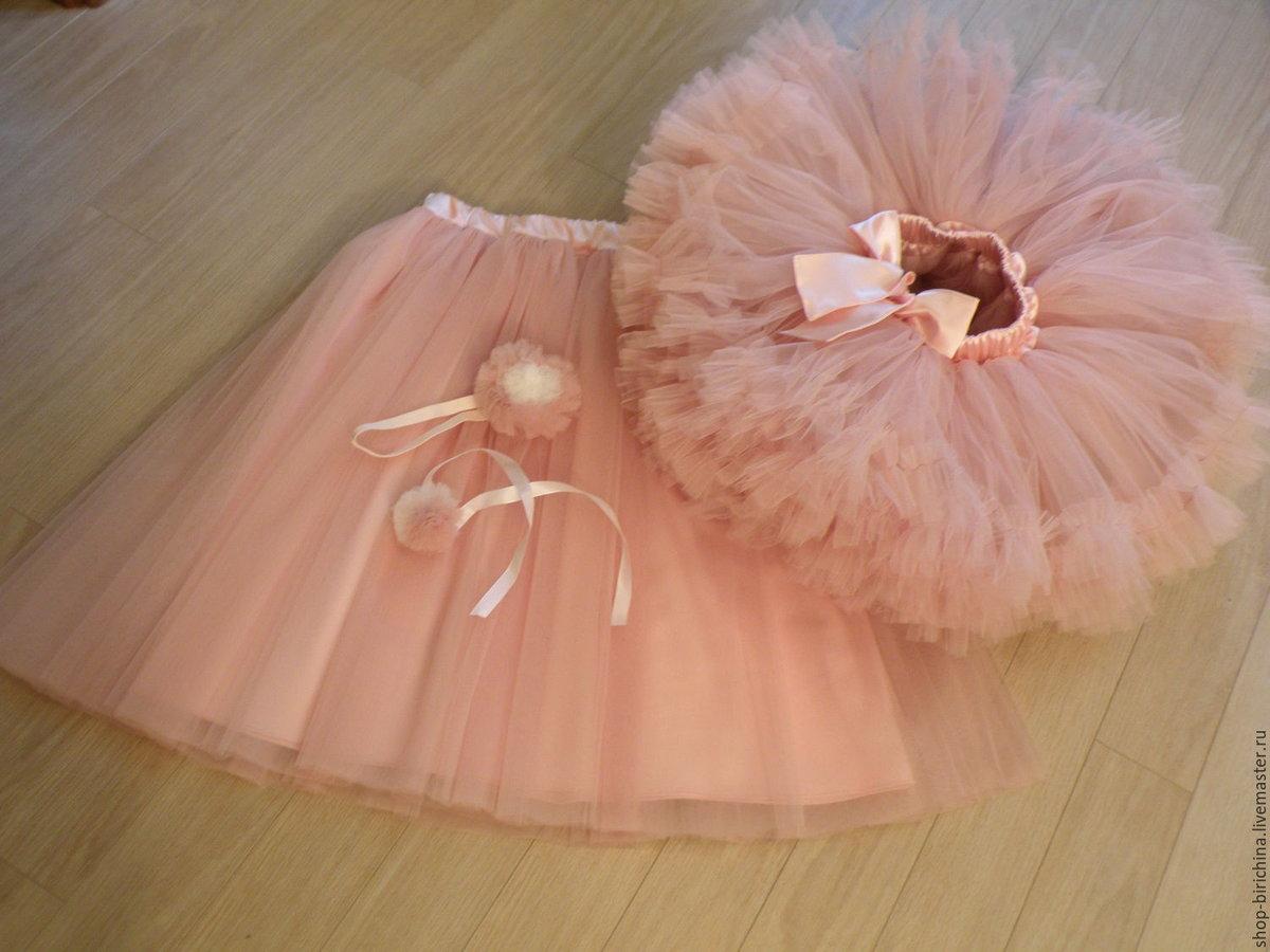 Сшить юбка из фатина для девочки 29
