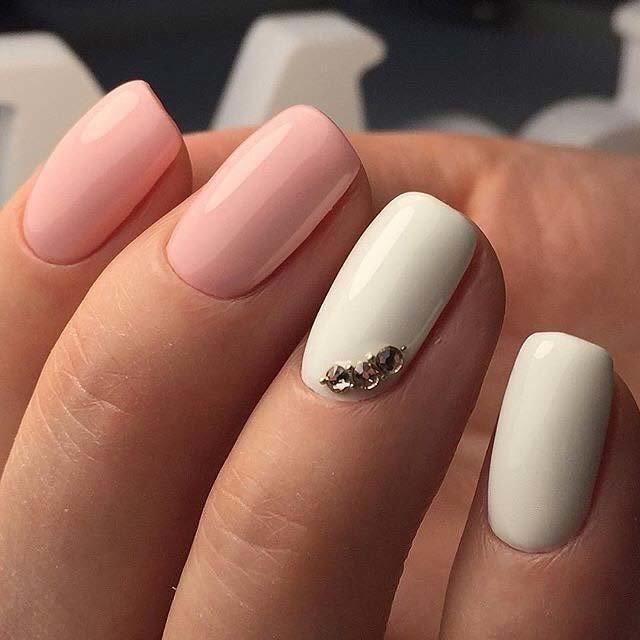 Ногти Форма Балерина Дизайн Фото 2019