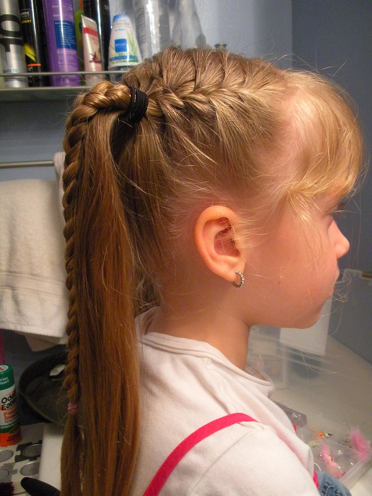 Причёски для девочек в садик на утренник фото