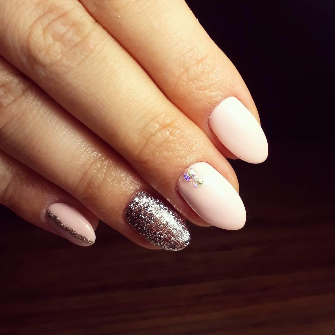Ногти Круглые Дизайн Фото Френч