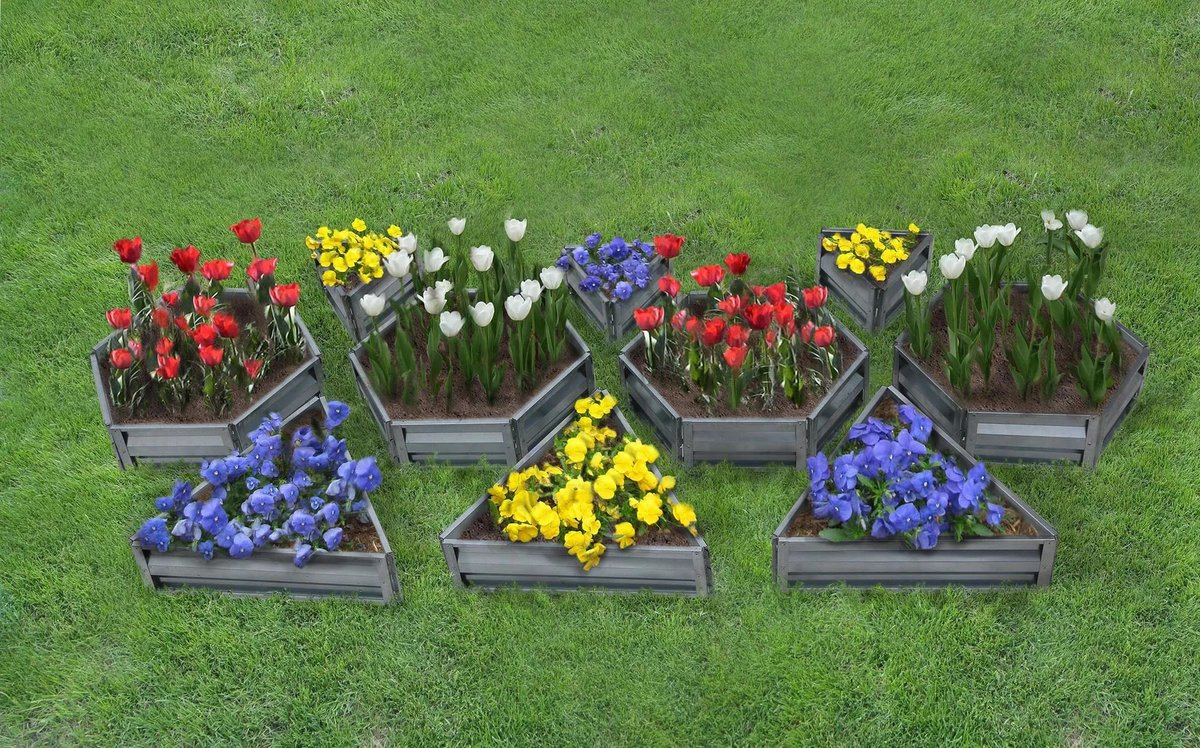 Клумбочки для цветов своими руками 13