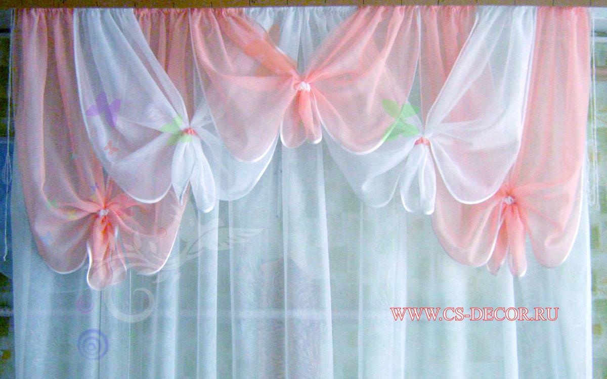 Фото штор из органзы своими руками 293