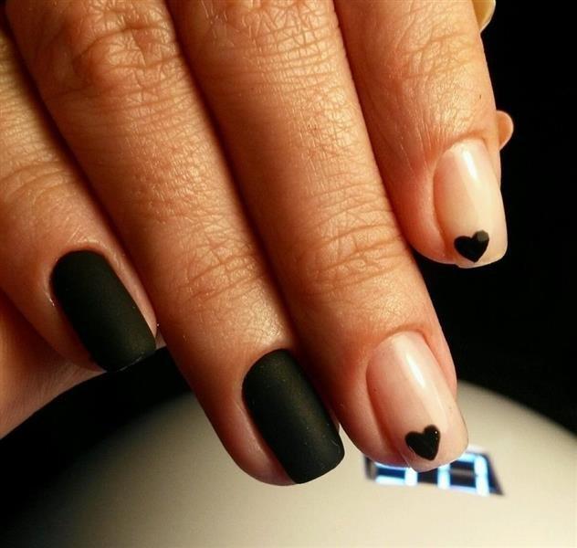 Матовые Ногти Со Стразами Дизайн Фото