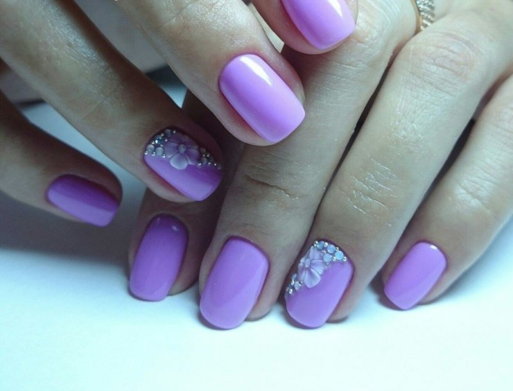 Ногти Покрашенные Лаком Фото