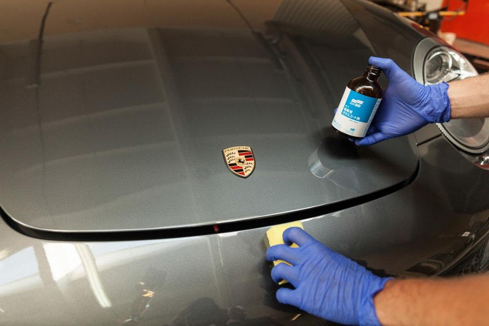 Как нанести жидкое стекло на авто своими руками 33