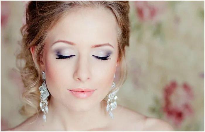 Макияж на свадьбу в домашних условиях с фото