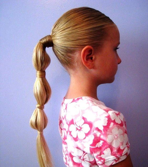 Прически которые дети могут делать сами
