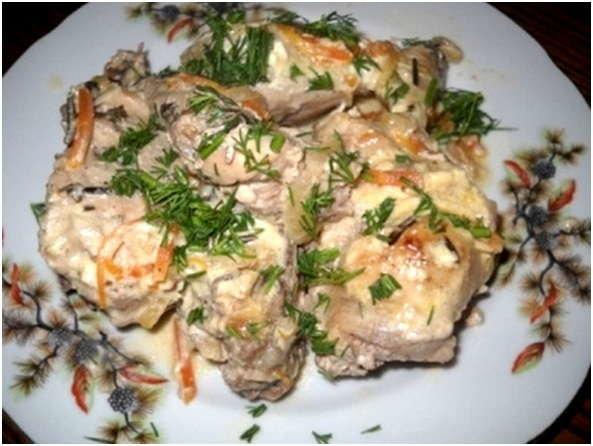 Блюдо из кролика в сметане рецепты