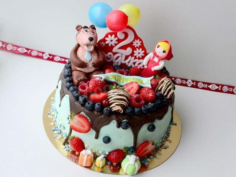 Торт маша своими руками