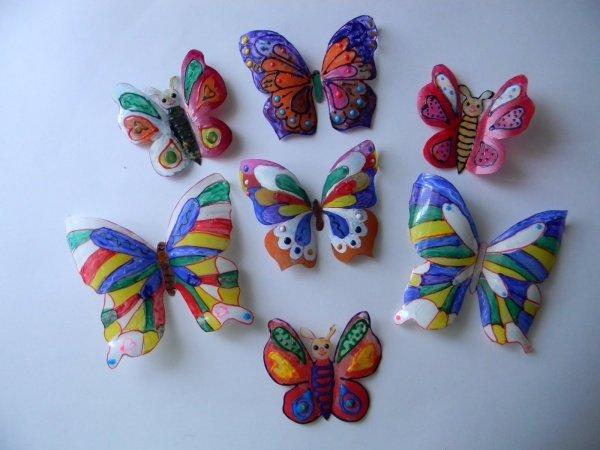 Поделка бабочка своими руками для детского сада 353