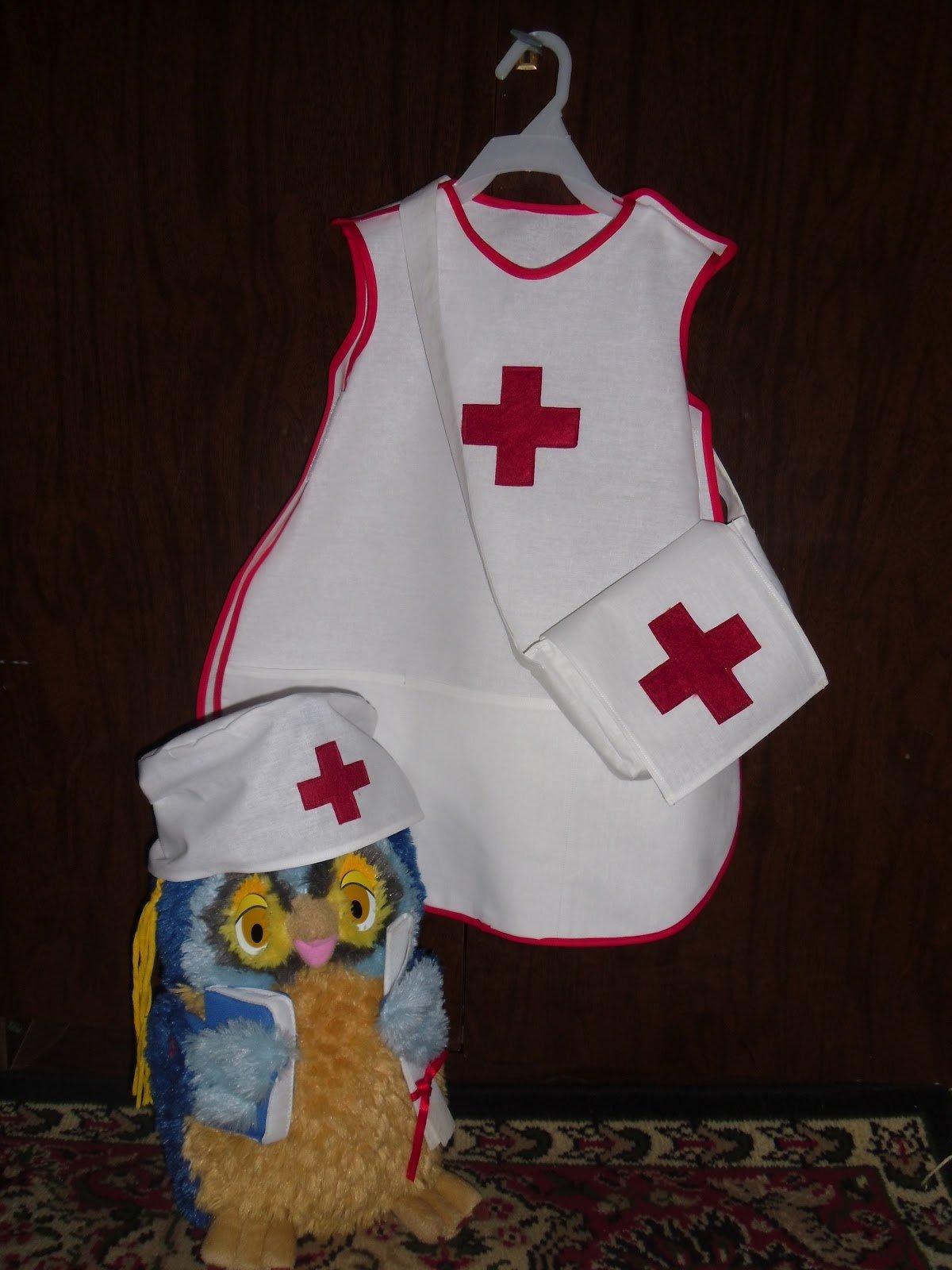 Сшить детский костюм медсестры своими руками 33