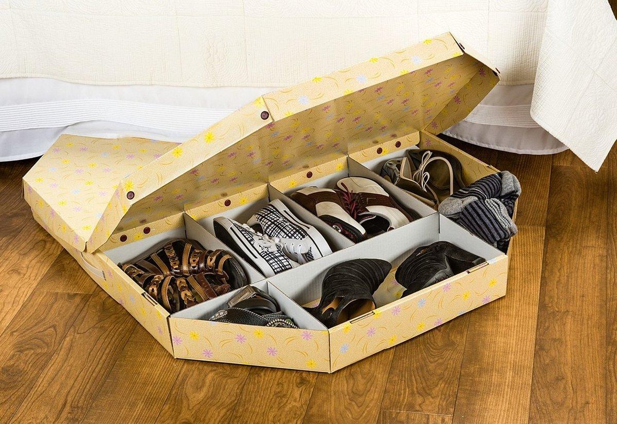Коробки для хранения обуви своими руками