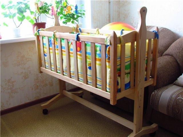 Как сделать кроватку своими руками для ребенка