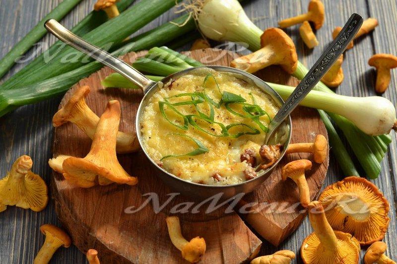 Жульен классический с грибами и сливками рецепт