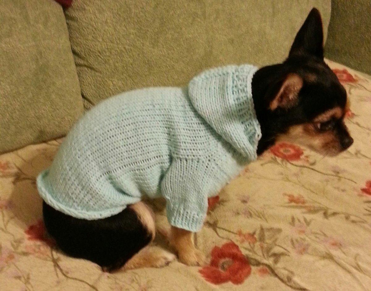 Вяжем не маленьких собак