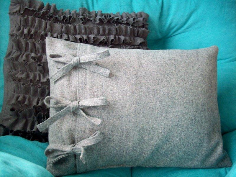 Оригинальные наволочки на подушки своими руками