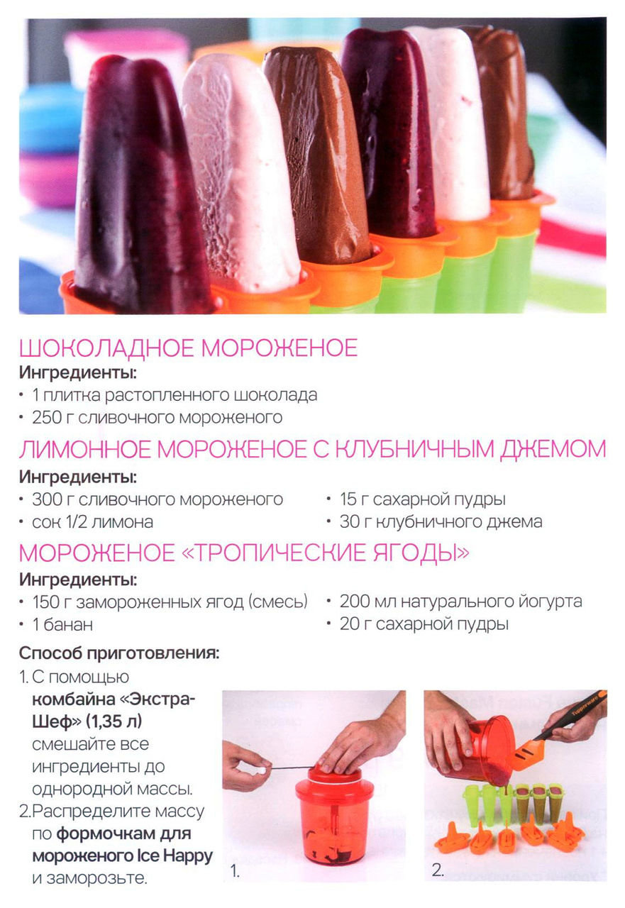 Мороженое фруктовое в домашних условиях рецепт пошагово